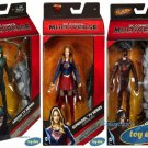 DC Comics: TV Series: Supergirl, Arrow, & Flash Multiverse 3 Action Figures
