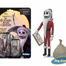 "Nightmare Before Christmas - Santa Jack ReAction 3 3/4"" Retro Action Figure"