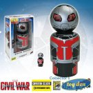 Captain America: Civil War Ant-Man and Giant Man Pin Mate Wooden Figure Set of 2