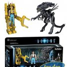 ALIENS - Ripley, Power Loader, Queen Box Set of 3 ReAction Figures