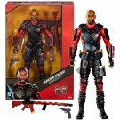 "DC Multiverse: Suicide Squad Deadshot Will Smith 12"" Boxed Action Figure"