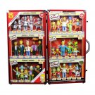 Simpsons - 25th Anniversary Limited Edition Bendable 6 Mega Sets in Suitcase