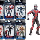 Marvel Legends - Captain America Set of 6 Action Figures and Build Giant Man