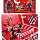 WWE - Wrestling Mighty Minis Portable Mini Ring Playset