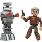 Lost in Space - Dr. Smith and B9 Robot 2-Pack Minimates Action Figures