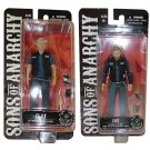 Sons of Anarchy -  Jax Teller & Clay Morrow  Set of 2 Collectible Figures