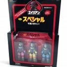 Alien Nostromo 3-Pack in Alien Day Japanese ReAction 3 3/4-Inch Retro Figures
