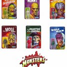 Universal Monsters - Set of 6 ReAction 3 3/4-Inch Retro Action Figures