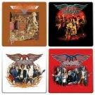 Aerosmith 4pc Wood Coaster Set
