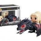 Game of Thrones - Dragon & Daenerys POP! Ridez Vinyl Figure Set