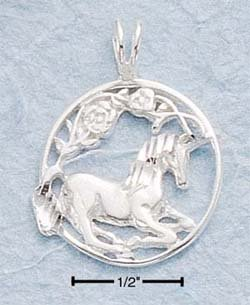 Unicorn Design Charm