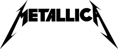 "23"" Metallica Vinyl Decal Sticker Car RV Truck Window or Wall"