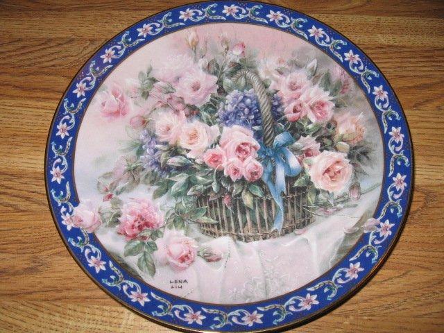 Lena Liu's Basket Bouquets Roses