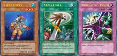 Deep Diver Set (For use in Yugioh Online 2 ONLY)