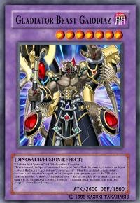 Gladiator Beast Gaiodiaz (For use in Yugioh Online 2 ONLY)