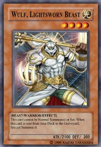Wulf, Lightsworn Beast (For use in Yugioh Online 2 ONLY)
