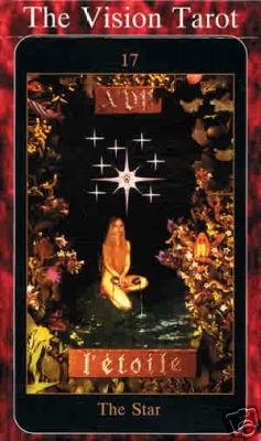 Vision Tarot Deck of Cards with Instruction Booklet