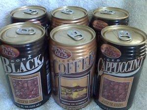 Royal Mills Hawaiian Iced Coffee Set Of 6 Cans