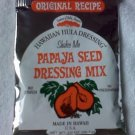 Hawaiian Hawaii PAPAYA SEED salad dressing MIX