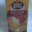 Hawaiian Home Style Cookies - Kauai Kookie - Kona Coffee Macadamia