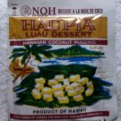 Traditional Hawaiian Coconut pudding dessert mix