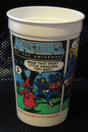 Masters of the Universe - He-Man Burger King Cup