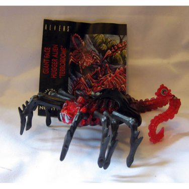 Kenner Aliens - Giant Face Hugger with Mini Comic