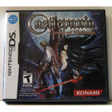 Castlevania Order of Ecclesia - Nintendo DS