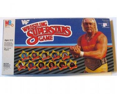 WWF Wrestling Superstars - Board Game 1985 Complete