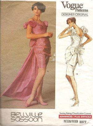 Vogue Bellville Sassoon dress gown 2277 gorgeous!