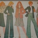 Vintage McCall's Pattern 4661 jacket, blouse, skirt & pants