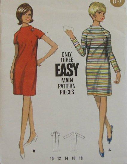 Vintage Butterick dress pattern 4430