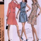 Vintage McCall's Dress Pattern 2299 Size 12