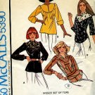 Vintage McCall's pattern tops Size Medium