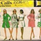 Vintage McCall's pattern 2236 Size 12 UNCUT