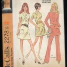 vintage McCall's 2278 Dress pattern