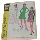 Vintage McCall's Pattern 2665 Dress size 12, Bust 34