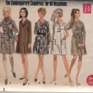 Vintage Butterick 5209 coat wrap dress pattern