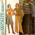 Vintage McCall's 4645 Knit Top, Skirt, Pants & Tank Top pattern