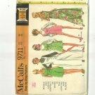 Vintage jumpsuit McCall's pattern 9711 size 14