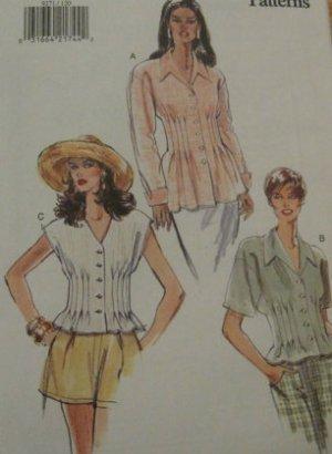 Vogue Blouses sewing pattern size 12,14,16 uncut