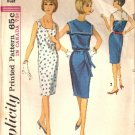 Vintage Simplicity pattern 5876 sleeveless shift dress size 14