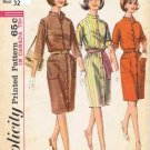 Vintage Simplicity sewing pattern 6040 dress size 12, B32