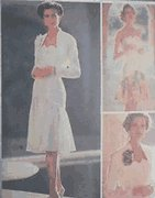 Butterick sewing pattern 3931 jacket and dress Nicole Miller UNCUT