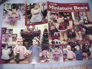 Miniature Bears to crochet Sue Penrod