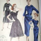 Vintage Butterick dress & jacket ensemble sewing pattern 7934 uncut