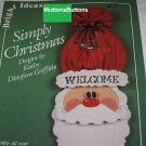 Tole Decorative Painting book Simply Christmas by Kathy DiStefano Griffiths
