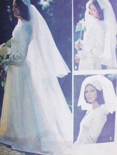 Butterick 3753 Beautiful Bridal Veils