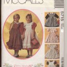 McCall's 5715 Children's Dress Girl's Pinafore Kitty Benton UNCUT Size 6