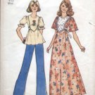 1970's Smock/Tunic top & Dress Sewing Pattern Simplicity 6931 Vintage